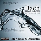 The Wave Quartet - Peter Sadlo - J. S. Bach - Concertos for Marimbas Orchestra 160